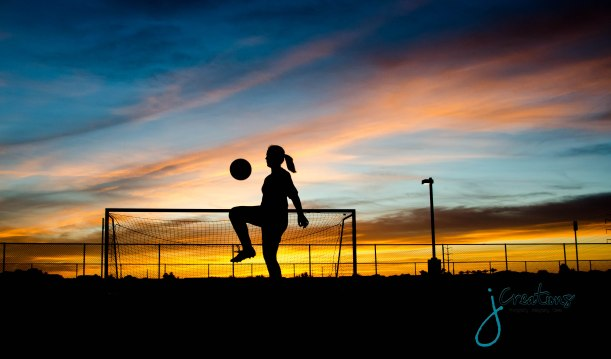 Ashley | Soccer at Sunset | Class of 2013 Graduation | J Creations Photography